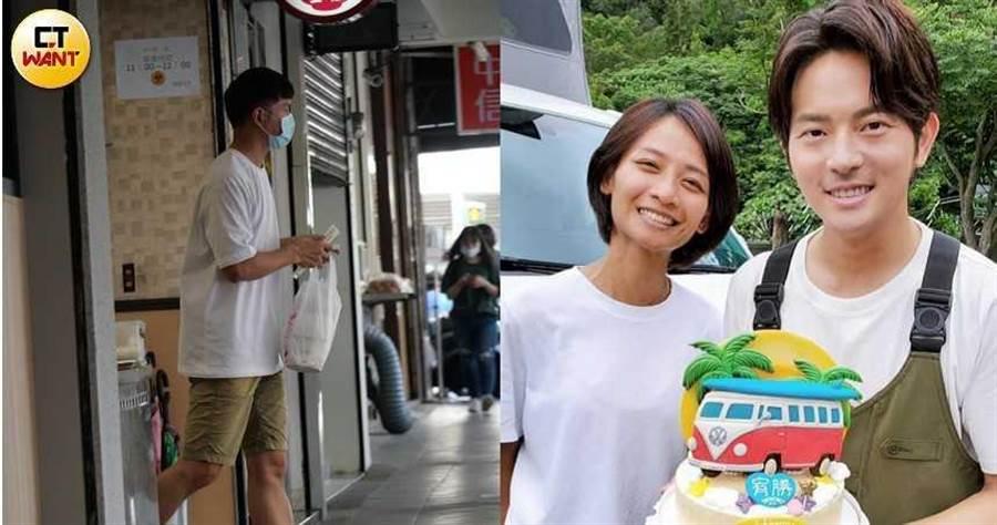 赢咖3平台:独/宥胜买麻油鸡帮她进补 蕾妈术后神复原恩爱逛街