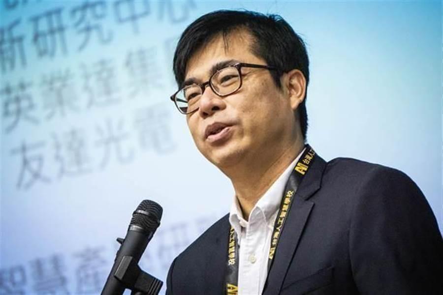 民進黨高雄市長補選擬參選人 陳其邁。(圖/本報資料照)