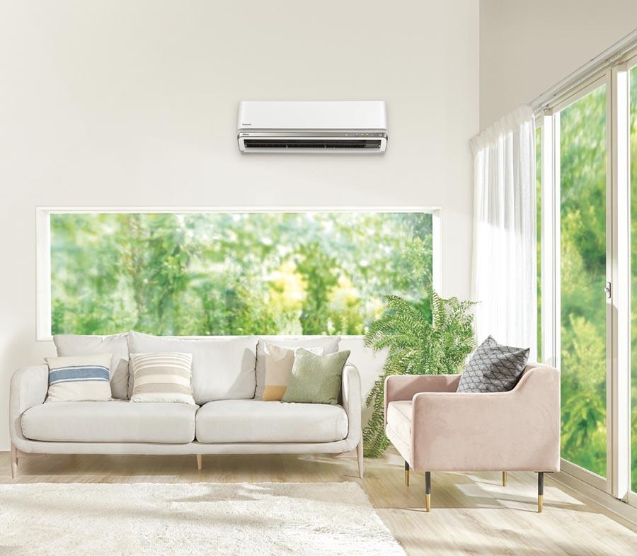 買Panasonic空調,省電效率超越國家一級標準70%,吹冷氣不怕夏月電價傷荷包。圖/業者提供