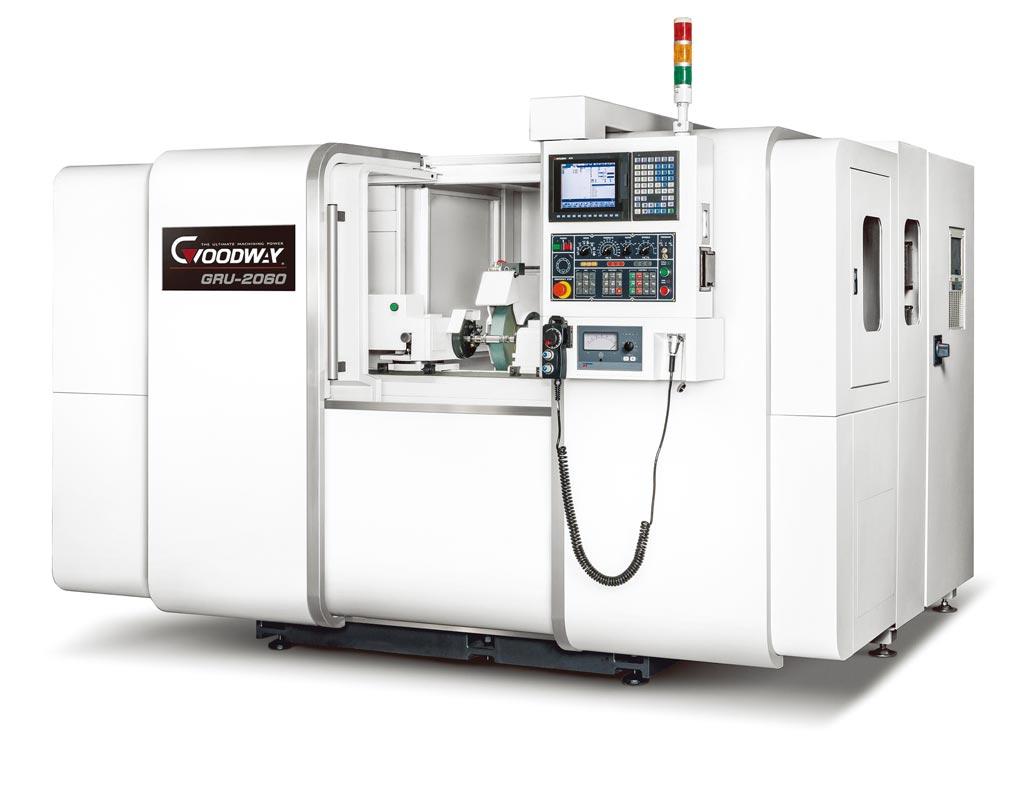 程泰機械GRU-2060直進式CNC外圓磨床。圖/業者提供