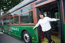 嘉義市電動公車超時尚 設計融入城市治理
