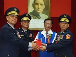 南投警局長呂新財新上任 反毒治安交通優先任務