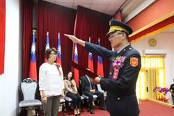 趙瑞華接任台東縣警局警長 22日完成交接