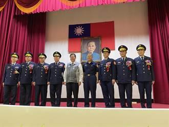桃新任分局長大隊長交接 鄭文燦允幫桃警爭更多督察和警政監