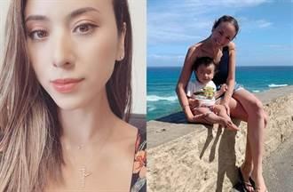 混血女星失婚養2歲兒 脫衣拍全裸照解放火辣身材