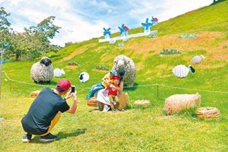 清境農場 飛羊迎客
