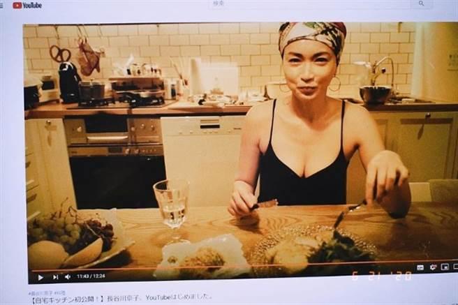 長谷川京子加入Youtuber行列,在IG上替自己宣傳。(圖/翻攝自IG)
