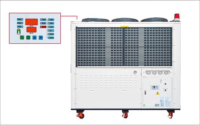 得雲出品的冷卻系統。圖/業者提供