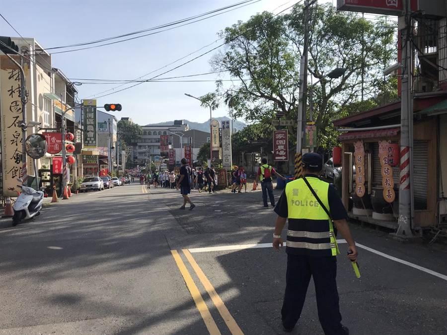 端午連假將至,白河警分局將在轄區觀光景點派員維護交通。(白河警分局提供/莊曜聰台南傳真)