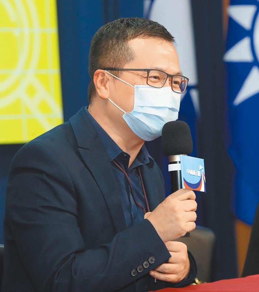國民黨革實院院長羅智強。(本報資料照)