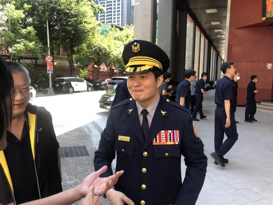 新任局長林炎田迅速指揮辦案,偵破八斗子砍殺少年案。(許家寧攝)