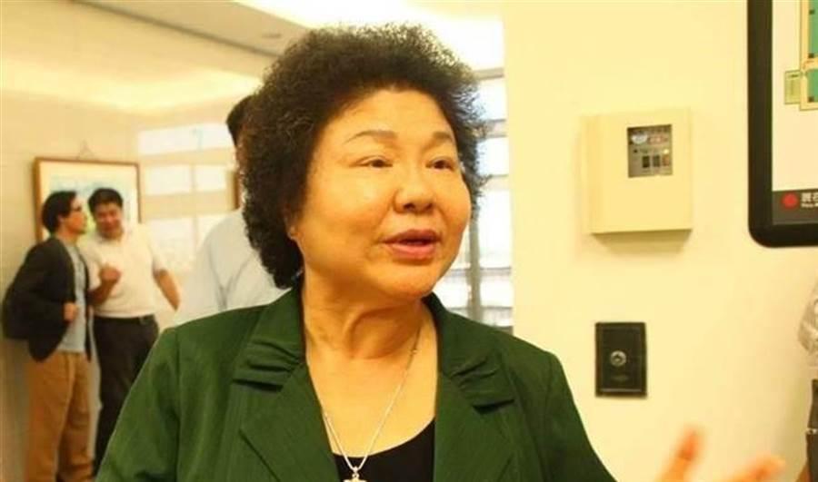 前總統府秘書長陳菊,近期傳出擬被提名為監察院長。總統府今下午舉行記者會說明。(圖/中時資料照)