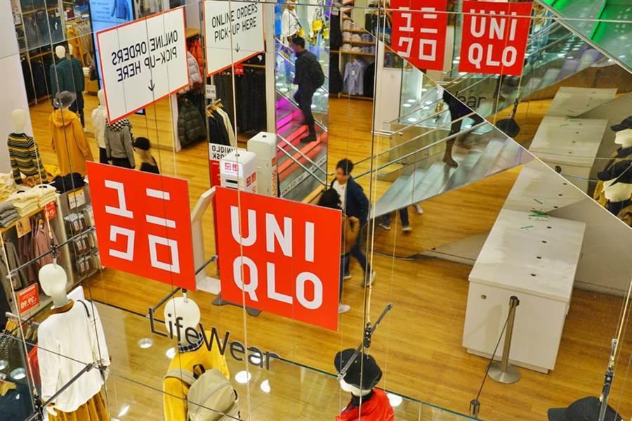 經營「優衣庫」(UNIQLO)等品牌的日本迅銷(優衣庫母公司)的總市值正在逼近經營「ZARA」的全球最大服裝零售商Inditex。圖/達志影像
