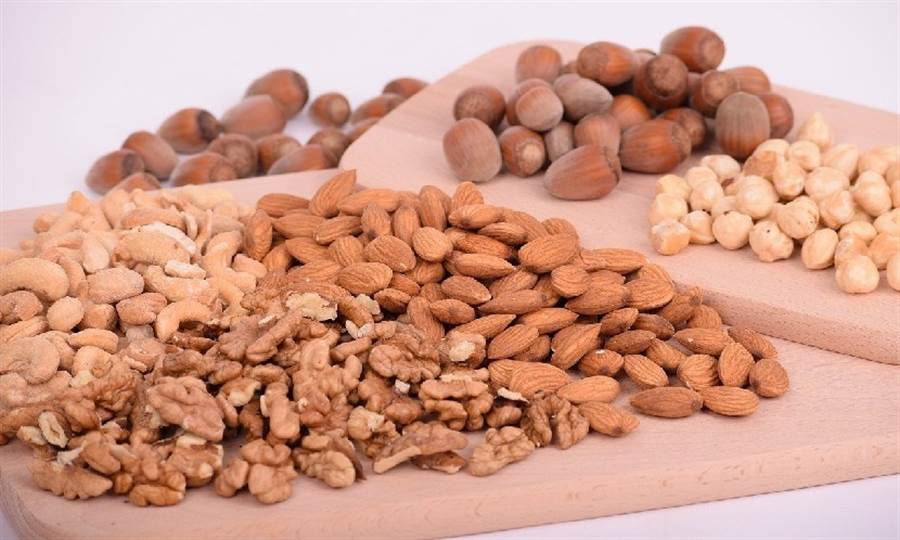 堅果含有需多微量元素和不飽和脂肪酸,能幫助身體對抗壓力。(圖片來源:Pixabay)