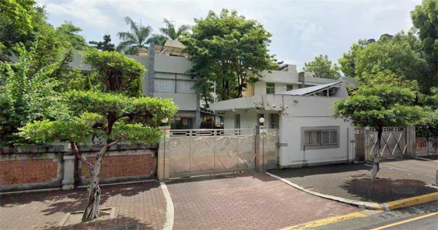 高雄市長官邸位於凱旋路。(圖/翻攝自Google Map)