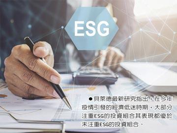 後疫時代 法人投資聚焦ESG