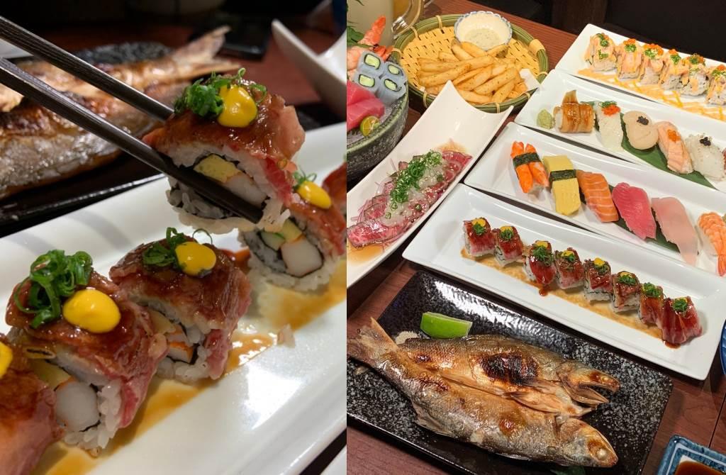 最強居酒食堂推超豪邁厚切鮭魚、和牛大炙燒!奢華鵝肝超誘人(圖/楊婕安攝)