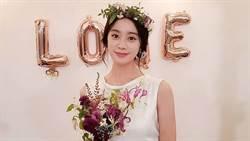 Wonder Girls惠林嫁7年男友!絕美婚紗「V到肚臍」露膚色一片