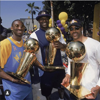 NBA》18年前奪冠照 歐尼爾:兄弟!我想你了