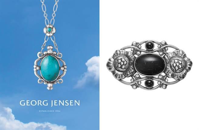 喬治傑生 限量復刻訂製珠寶 夏夜之光 絕美珍藏(圖/品牌提供)