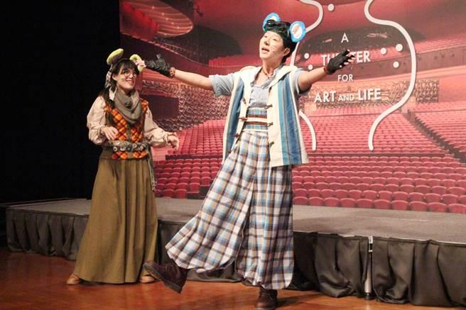 愛樂劇工廠的《老鼠娶親之公主不想嫁》,將為親子帶來一場歡樂音樂劇。(陳淑芬攝)
