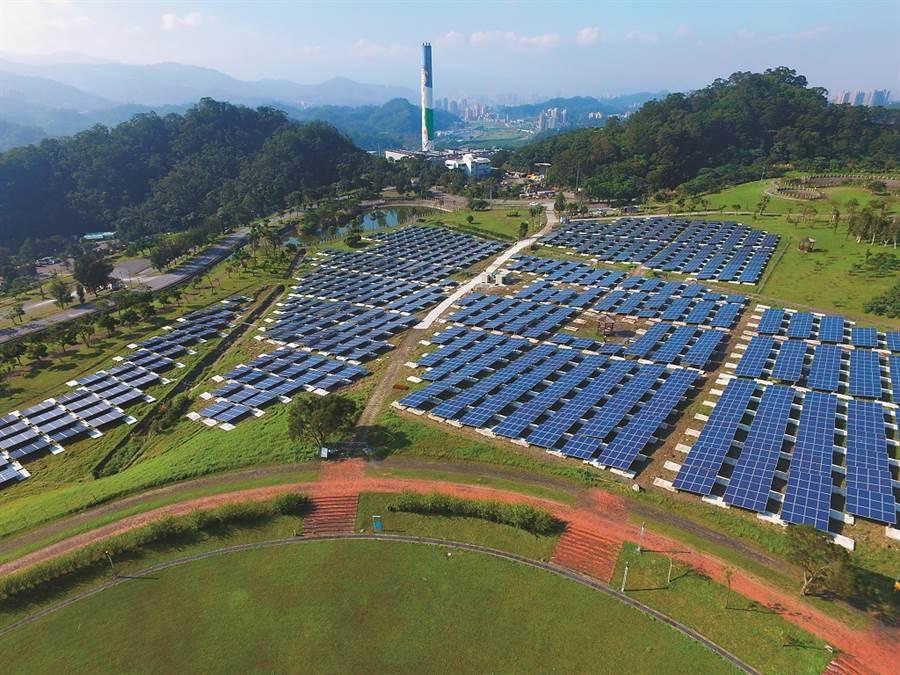 台北能源之丘-綠色環境教育園區  獲頒「國家卓越建設獎評選-最佳環境文化類特別獎」。(大同公司提供)