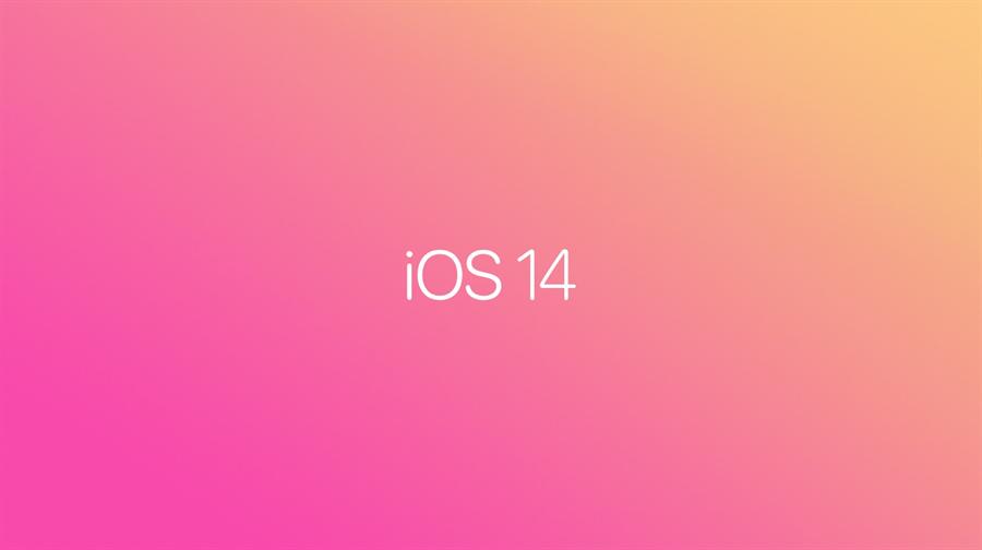 iOS 14 正式發表。(摘自蘋果官網)