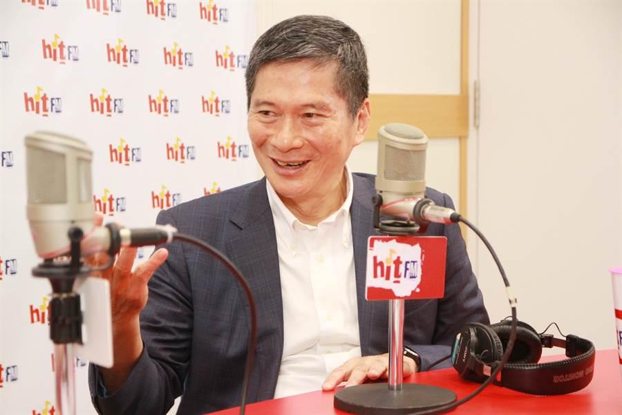 文化部長李永得今(23)日在周玉蔻的廣播節目中表示,將來會有「屬於台灣人的故宮」。(Hit Fm《周玉蔻嗆新聞》製作單位提供)