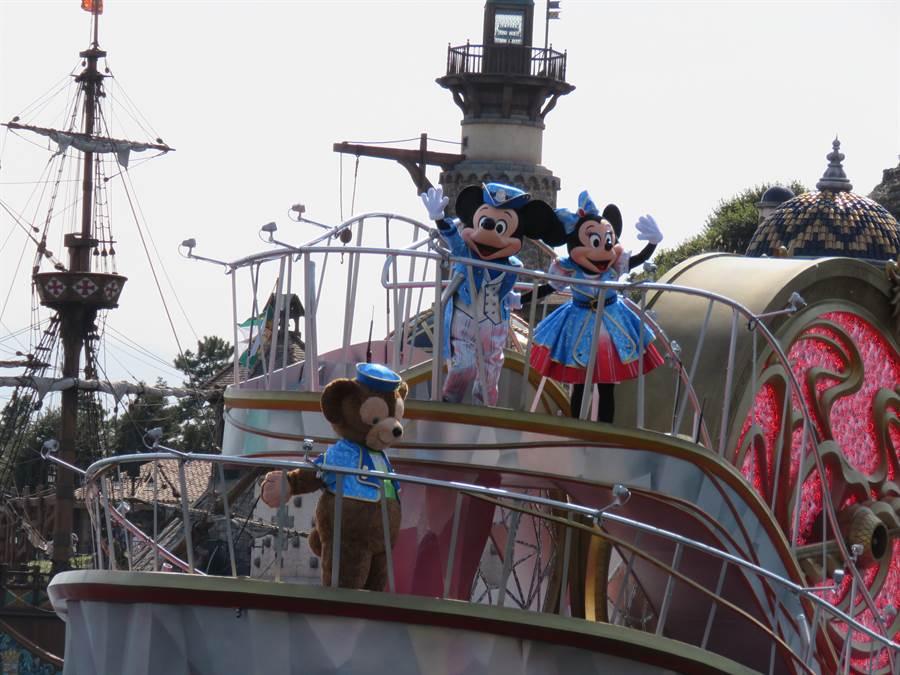 東京迪士尼樂園和迪士尼海洋樂園即將於7月1日重新開園。(黃菁菁攝)