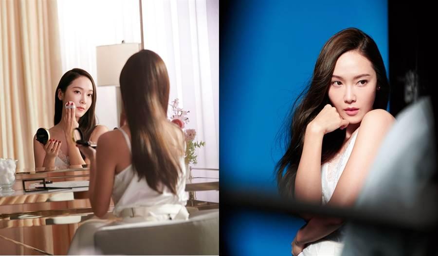 Jessica表示夠成為露華濃全球品牌形象大使的一員,令他又興奮又榮幸。(圖/品牌提供)