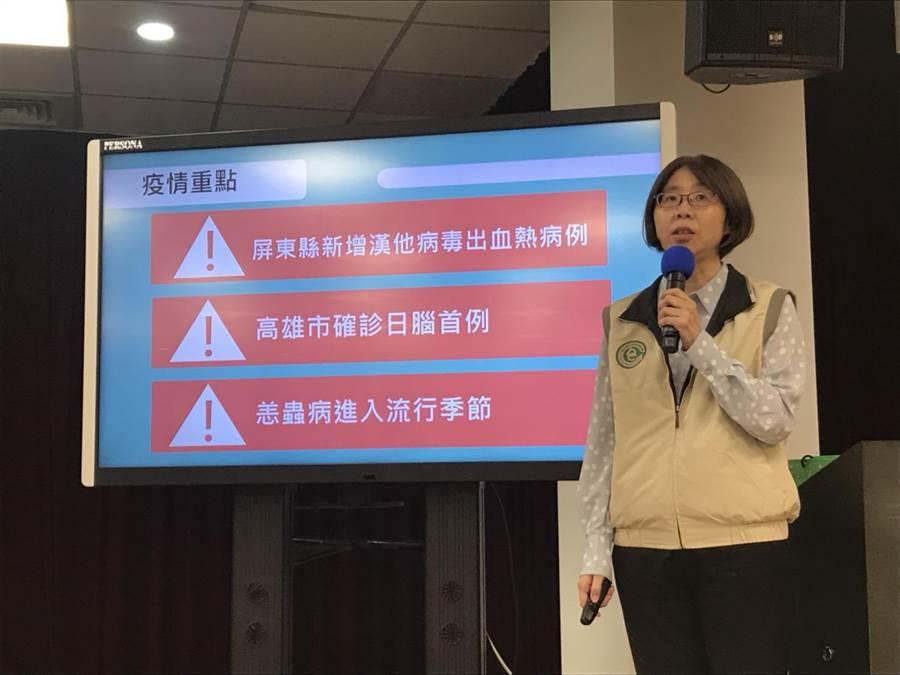 疾管署今天公布國內累積4例日本腦炎患者。(鄭郁蓁攝影)