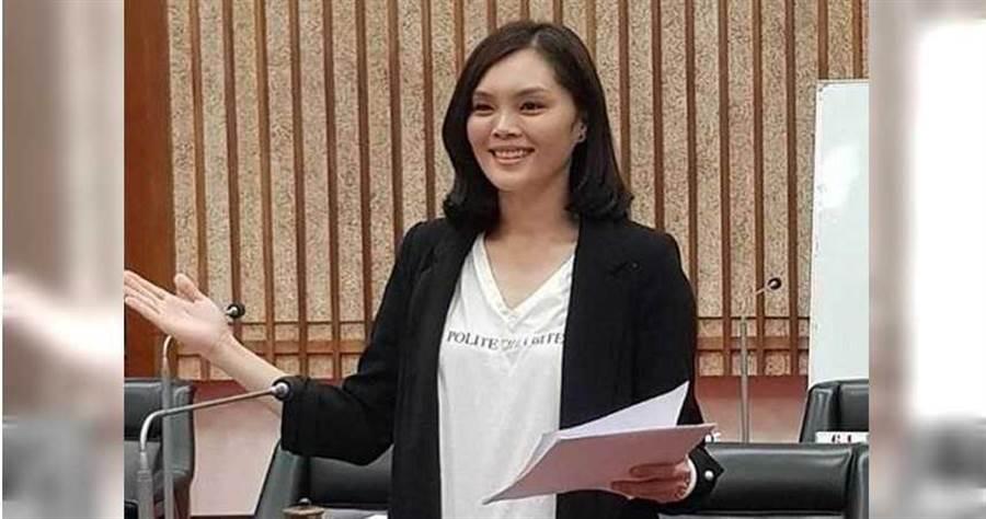 國民黨高雄市黨部徵召議員李眉蓁參選。(圖/中時資料庫)