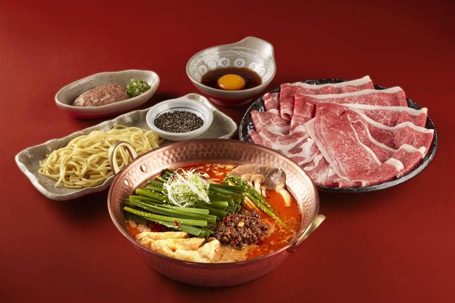 「擔擔鍋」使用濃郁辛香的味噌高湯,嘗起來麻而不辣,是炎夏最經典開胃的絕佳選擇。(圖/品牌提供)