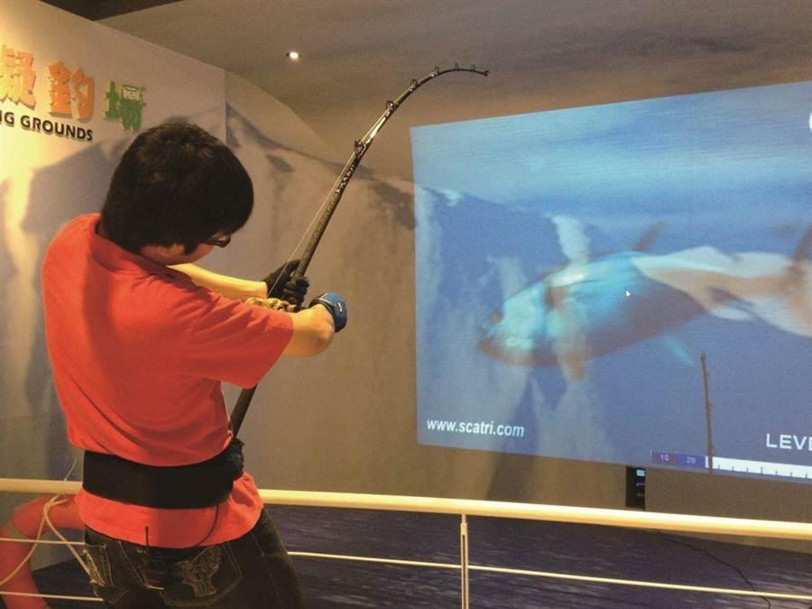 台中產業故事館祭出多項優惠,寶熊漁樂碼頭推出滿額抽釣魚竿。(台中市觀光旅遊局提供/王文吉台中傳真)