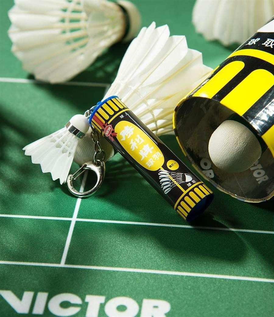 造型悠遊卡吹運動風,羽球筒隨身帶著走。圖/悠遊卡公司提供