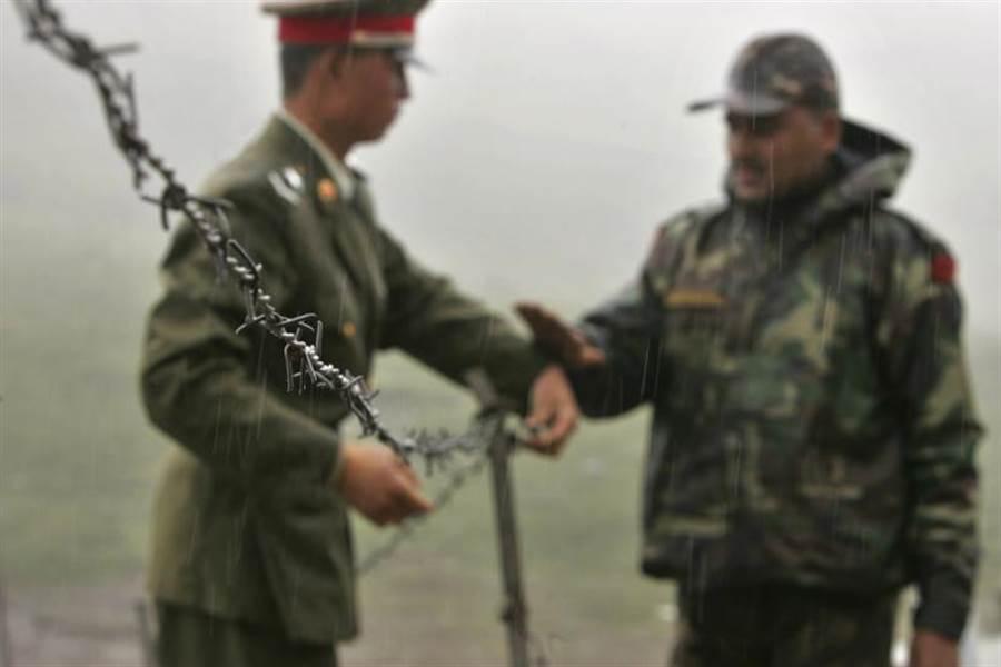 2006年中印邊界檔案照。(美聯社)