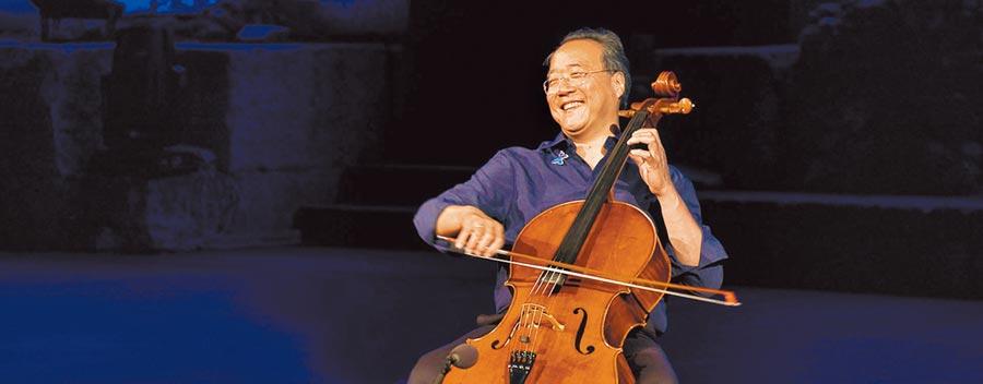 大提琴家馬友友將在11月登台,演奏巴哈全本大提琴無伴奏組曲。(牛耳藝術提供)