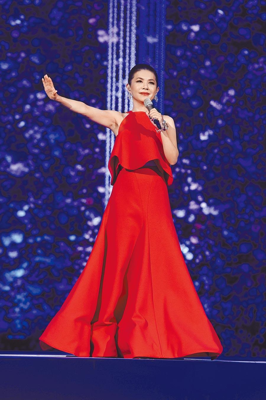 張清芳以高亢嗓音縱橫歌壇30多年。  (資料照片)
