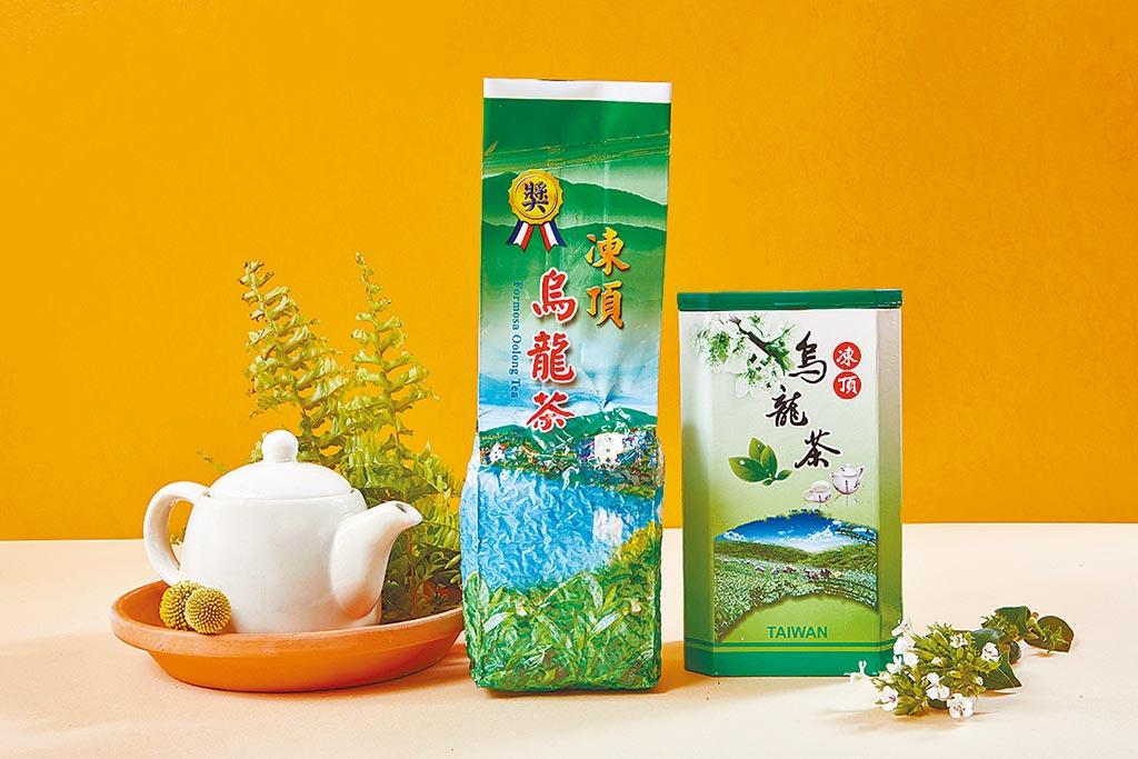 大葉高島屋的惠國台灣茶,凍頂烏龍茶300g,800元,享買1送1優惠。(大葉高島屋提供)