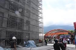 花蓮0206安心住宅上樑 拚明年3月前完工