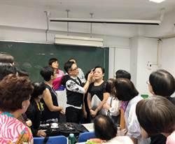 朱正生學員跨齡75歲 領門外漢獲國際彩妝大獎