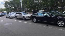 高市議員李喬如 駕車不慎釀追撞 3車毀損2人受傷