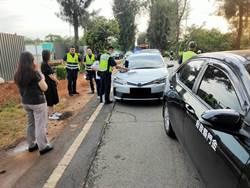 金縣府公務車遇連環撞  3名女駕駛幸均無恙