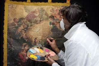 花4萬請人修復古畫 聖母瑪利亞竟慘成恐怖大媽
