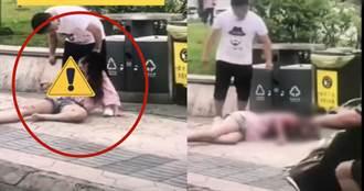 少女當街遭割喉放血 掙扎垂死影片網瘋傳