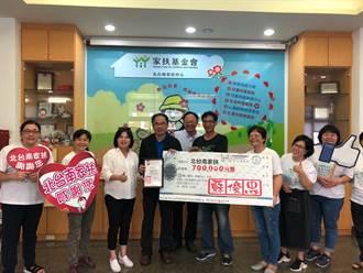 疫情衝擊弱勢家庭 台南旅北企業家蘇俊忠捐110萬助家扶兒