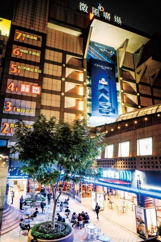 現今微風廣場的所在地,前身是黑松1937年以6萬日圓買地興建的黑松汽水中崙廠,目前每年可為黑松創造近5億元租金收益。