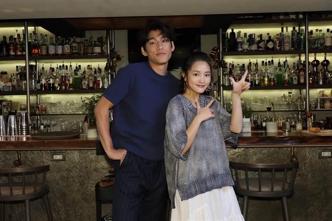 王淨(右)、朱軒洋入圍本屆台北電影獎。(E!Studio藝鏡到底提供)