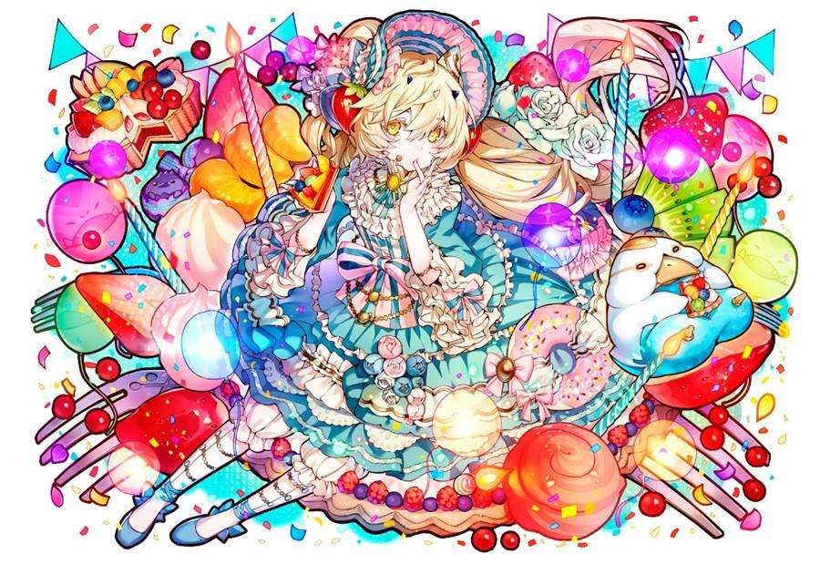 《召喚圖板》凍菓水晶・瑪麗亞(圖/江湖桔子提供)