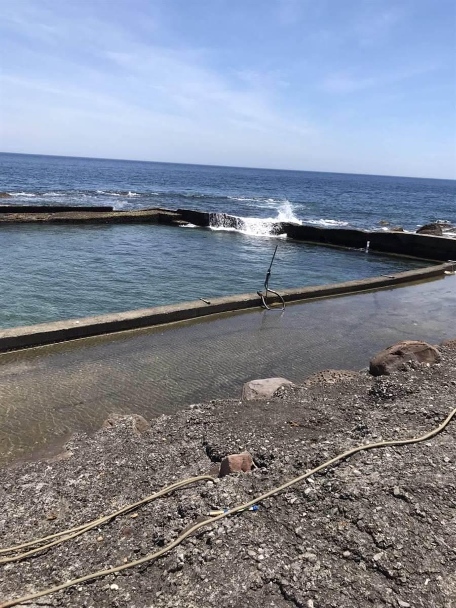 貢寮鮑養殖場以海水養殖,位置偏遠,產季期間竊案頻傳。(瑞芳警方提供/許家寧新北傳真)